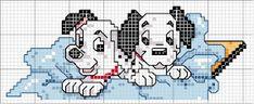 Bordando mimos: Graficos para Meninos Disney Stitch, Disney Cross Stitch Patterns, Cross Stitch Designs, Cross Stitch Baby, Cross Stitch Animals, Cross Stitching, Cross Stitch Embroidery, Stitch Character, Book Markers