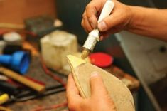 Repairing soles, stretching boots for calves, general shoe-fixing