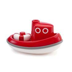 basic bath toys  ex: Kid-O Tugboat Floating Boat