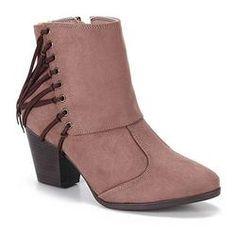 Ankle Boots Feminina Bebecê - Taupe