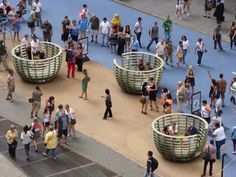 Meeting Pods in NY 5 - Courtesy of Times Square Alliance