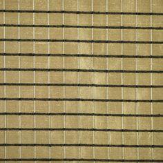 Tan Black Grid Textured Silk Home Decor or by DartingDogFabric
