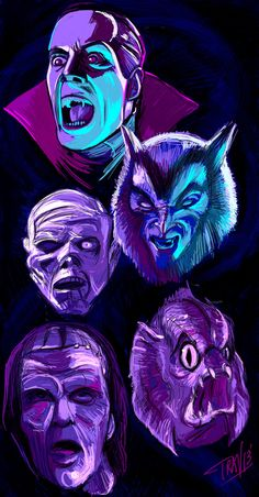 """Day 31 of my """"31 Days of Halloween"""" sketch project ends with The Monster Squad: my favorite film since childhood. Every Halloween I have a viewing of this flick and if you haven't seen it you must. If you have children (11 or older), show them this..."""