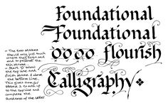 Learn Calligraphy | Foundational Hand - A Roundhand Alphabet