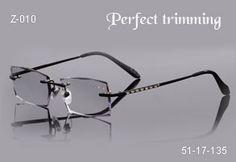 unique rimless eyewear | Faceted & jeweled rimless eyeglasses