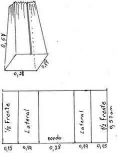 Moldes para hacer un porta pañales - Imagui