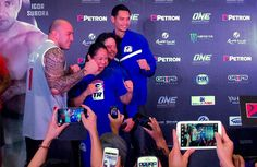 """MANILA, Philippines – Brgy. Ginebra Kings' power forward Japeth Aguilar will trade the ball for towel when he joins Fil-Am boxer-turned MMA fighter Ana """"The Hurricane"""" Julatons' corner in her ONE FC fight Friday night at the Mall of Asia Arena."""