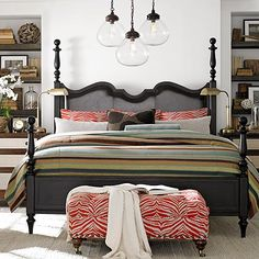 Poster Bed by Bassett Furniture. Relaxed yet traditional.
