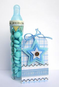 cut the top part of the tube top with a craft knife and inserted a baby bottle nipple.