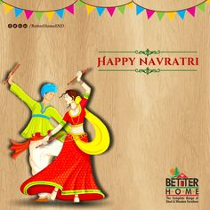 May the bright spirit of Navratri fill your home and heart with loads of joy and happiness. #HappyNavratri #BetterHomes