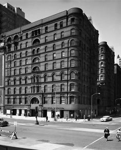 Pullman Building :: Archival Image & Media Collection Location : 79 E. Adams St. at SW corner of S. Michigan Ave. and E. Adams St.