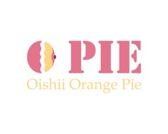 O Pie Logo Orange pie Logo Design Ideas