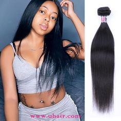Malaysia Virgin Hair Straight Human Hair Weave 3 Bundles With Malaysia Straight Hair Lace Closure Uhair Products Weave Extensions, Real Human Hair Extensions, Straight Weave Hairstyles, Hair Weft, Lace Closure, Lace Frontal, 100 Human Hair, Virgin Hair, Women
