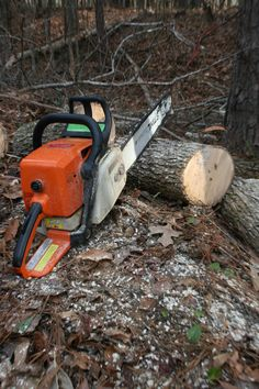 Every man needs at minimum 1 chainsaw