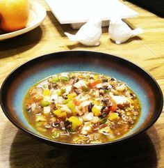 Healthy mexican-style chicken and vegetable soup. This recipe is grain-free, sugar-free, diary-free, salt-free, and paleo approved!