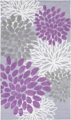 Surya Abigail ABI-9055 (Lavender, Grey)
