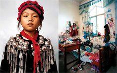 Sociedade Hacker: 13 Crianças de várias partes do mundo e os seus respectivos quartos -