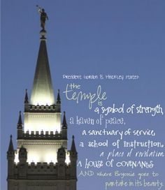 I am also one to believe that 'Tempel' is another symbol of strength :) Temple Quotes Lds, Church Quotes, Lds Quotes, Religious Quotes, Mormon Quotes, Wedding Matches, Wedding Sets, Spiritual Church, Lds Books