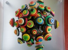 Button Bouquet, it's all kinds of fabulous and it won't die