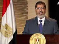 Mursi afirma que Egipto no dejará sola a Gaza y califica ofensiva israelí de 'agresión contra la humanidad'