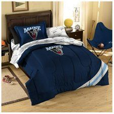 College Maine Bed in Bag Set - Size: Full