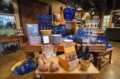 """Award-winning Design - """"The Year of France,"""" Mission Hill Family Estate Winery, West Kelowna - this doesn't just make me want to set a beautiful table, it makes me want to redecorate a kitchen! VMSD  International Design Competition #design #retail  #merchandising #displays"""