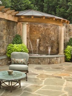 Natural Plan For Retro Jacuzzi Hot Tub   Landscaping Design Ideas   Perennial Flowering Plants