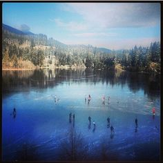 Cold winter days on Nita Lake #whistler  nitalakelodge's photo on Instagram