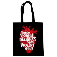 Romeo & Juliet 'Heart' Bag