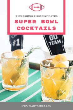 Refreshing Super Bowl Cocktails - Want to try something new and flavorful for y. - Refreshing Super Bowl Cocktails – Want to try something new and flavorful for your Super Bowl pa - Super Bowl Quotes, Drinks Alcohol Recipes, Drink Recipes, Shot Recipes, Game Day Food, Refreshing Drinks, Cocktails, Patriotic Crafts, July Crafts