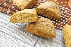 Vegan Pumpkin Scones #vegan #pumpkin #recipe
