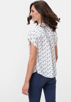 27de2fc61a321 Comprar Blusa estampada de globos TEX. ¡Aprovéchate de nuestros precios y  encuentra las mejores OFERTAS en tu tienda online de Moda!