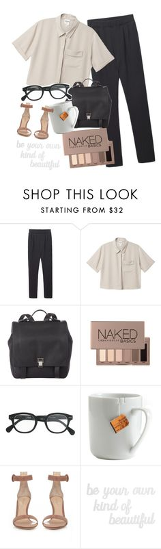 """don't be a fool"" by haijflxforever ❤ liked on Polyvore featuring BLACK CRANE, Monki, Proenza Schouler, Urban Decay, J.Crew, le mouton noir & co., Gianvito Rossi and PBteen"