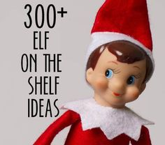 I cannot wait to have kids at Christmas & do Elf on the Shelf with them! I think I'd have much more fun with it than they would. I pin all my favorites to a board on Pinterest for safe-keeping....