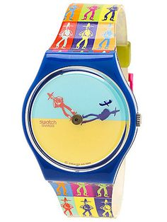 American Apparel - Vintage Swatch Lucky Shadow Watch