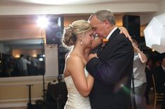 emotional father-daughter dance
