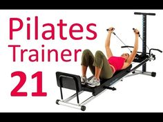 Pilates Workout for Total Gym & Reformer (by Ultimate. The Effective Pictures We Offer You About Pilates Workout chart A quality picture can tell y Hot Pilates, Pilates Workout Routine, Pilates Reformer, Barre Workout, Workout Trainer, Pilates Studio, Fitness Video, Fitness Gym, Physical Fitness