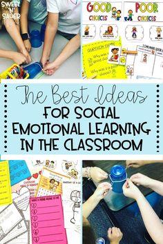 Emotional Support Classroom, Social Emotional Activities, Social Emotional Development, Social Studies Activities, Kindergarten Activities, Classroom Activities, Learning Activities, Behavior Management, Classroom Management