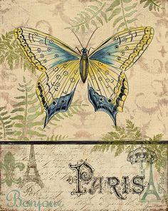 Paris/Butterfly