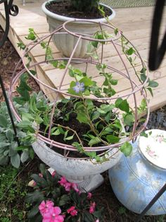 Creating Your Own Garden Orb/Sphere