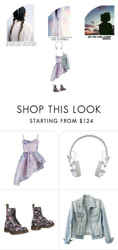 """""""Bubble Gum Rebel"""" by smil-ly ❤ liked on Polyvore featuring By Sun, Master & Dynamic, Dr. Martens and ADAM"""