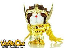 22.99$  Watch here - http://ali0ls.shopchina.info/go.php?t=32632873479 - DoraCat Doraemon Cos Saint Seiya Sagittarius PVC Action Figure Collectible Model Toy 15cm DRG062 22.99$ #bestbuy