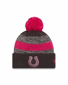 86cf9c91 New Era Breast Cancer Awareness 2016 Indianapolis Colts NFL Sport Knit Pom  Hat #fashion #