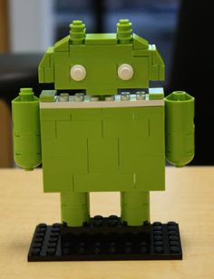 Fascinating LEGO® Model of the Day: NXT-Ready Goodies for Google Android