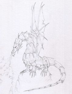 Preparatory drawings for figurines - #FENRYLL - 2001 by Alexandre Guillaume, via Behance
