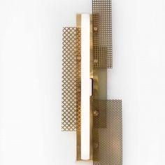 Aplique linestra led planchas perforadas