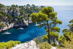 The calanques in the beautiful Provence, South of France :-)