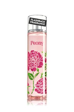 Signature Collection Peony Fine Fragrance Mist - Bath And Body Works Best Home Fragrance, Fragrance Mist, Bath And Body Works Perfume, Bath Candles, Bath And Bodyworks, Body Mist, Body Spray, Smell Good, Body Care