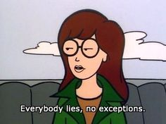 29 Reasons Daria Was TV's Greatest Cynic. I've never heard of this Daria show! She seems amazing and I shall now proceed to watch every episode. Daria Morgendorffer, Cartoon Quotes, Movie Quotes, Tv Quotes, Motivational Quotes, Sarcasm Quotes, Quotable Quotes, Daria Quotes, Daria Memes