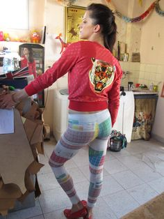 Periodic table of Elements Leggings by eatmeclothing on Etsy